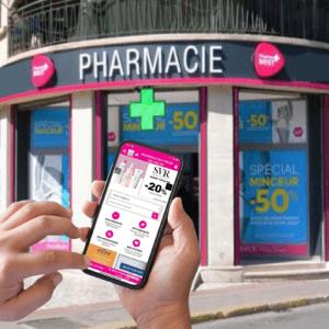 trafic pharmacie application
