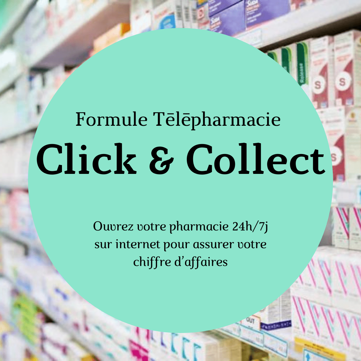 Formule Click & collect pharmacie
