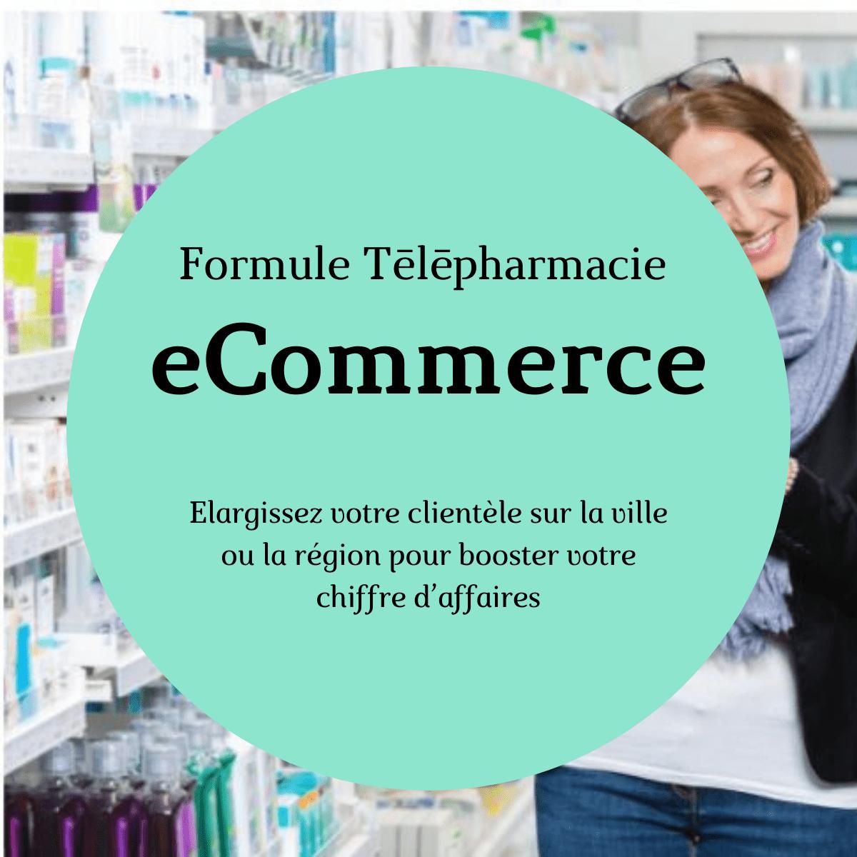 Formule vente en ligne pharmacie