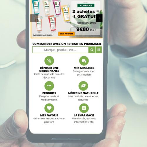 pharmacie mobile & connectée